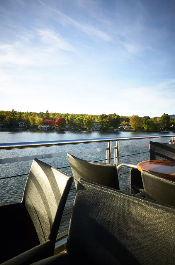 The deak - Escapades Memphrémagog - Cruises in the Eastern Townships