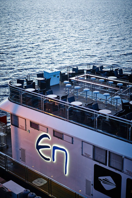 The deck - The Grand Cru - Escapade Memphrémagog
