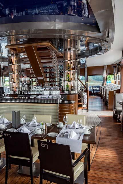 Restaurant - Le Grand Cru - Escapade Memphrémagog